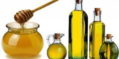 فوائد العسل مع زيت الزيتون للوجه و الشعر و الرجال