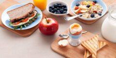 فطور صحي للرجيم يحرق الدهون بالبيض او بدون خبز
