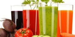 فوائد عصير الخضار للشعر و الوجه و التخسيس